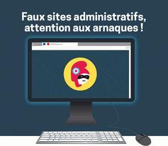 ATTENTION :Faux sites administratifs